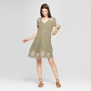 NWT Women's Embroidered Shift Dress - Knox Rose™